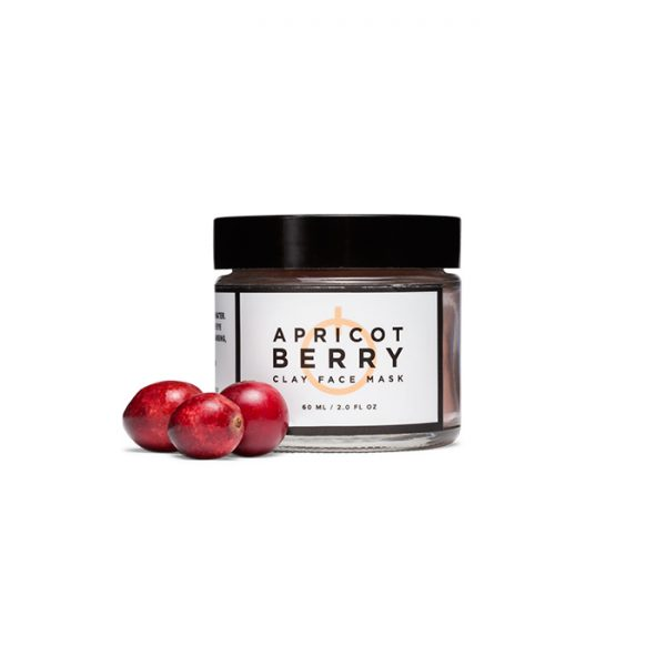 apricot berry clay face mask