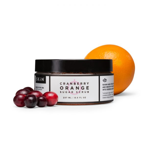 cranberry orange sugar scrub