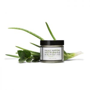 daily greens nourishing and hydrating repair cream for face and neck